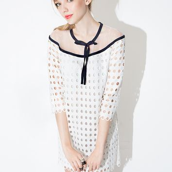 Matilda Eyelet Dress