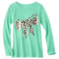 Cherokee® Girls' Long-Sleeve Graphic Tee - Assorted