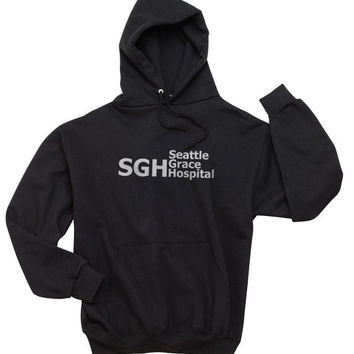 SGH Seattle Grace Hospital Unisex Hoodie S to 3XL