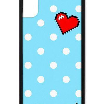 Digi Heart iPhone X Case