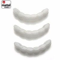 Jewelry Kay style Men's Hip Hop Molding Wax Fitting Silicone Fixing Bar for Top Grillz 3Pcs