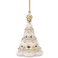 Lenox Florentine & Pearl Christmas Tree Ornament