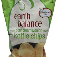 Sour Cream & Onion Flavor Kettle Chips by Earth Balance – VeganEssentials Online Store