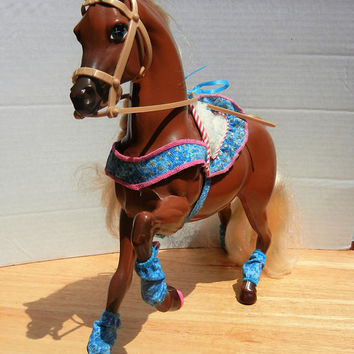 Horse for Barbie Doll: Star Stepper with Accessories Shown, Vintage Toys (1991)