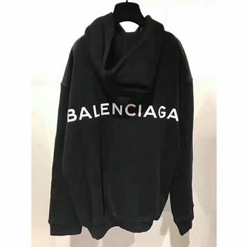 Balenciaga Long Sleeve Hedging Pullover Sweater Hoodies G-AGG-CZDL-1