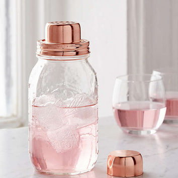 W&P Design Mason Jar Cocktail Shaker | Urban Outfitters