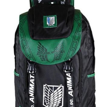 Cool Attack on Titan  Backpack School Bag Shoulders Bag Printing Backpack Men Women Travel Bag No  Cosplay Backpack AT_90_11