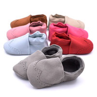 Baby Shoes Nubuck Baby Moccasins Newborn Shoes Soft Infants Crib Shoes Sneakers First Walker