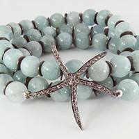 Renee Sheppard Starfish Wrap Bracelet at Carolina Boutique in downtown Mill Valley