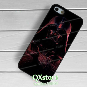 Star Wars Nebula Darth Vader fashion phone cover case for iphone 4 4s 5 5s SE 5c 6 6s 7 6 plus 6s plus 7 plus #we394