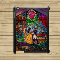 ipad 4 case,ipad 3 case,ipad 2 case,ipad mini case,ipad air case,cute ipad air case,cute ipad mini case--beauty and the beast,in plastic.