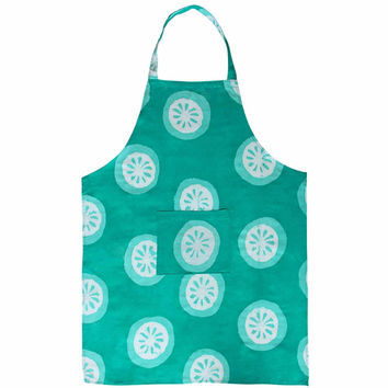 Apron - Shamrock Citrus - Global Mamas (A)
