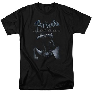 Batman Arkham Origins - Perched Cat Short Sleeve Adult 18/1