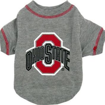 MDIGON Ohio State Buckeyes Pet Shirt MD