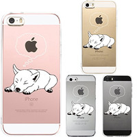 iPhone5 iPhone5S case Transparent shell Shiba inu