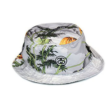 Stussy Chinese Bucket Hat in Grey (L/XL)