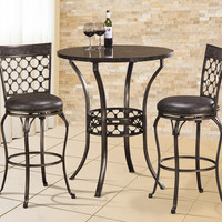 5752 Brescello Bar Height Bistro Dining Set - Free Shipping!