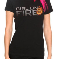 girl on fire - the hunger games- hot topic