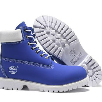 Timberland Rhubarb Boots 10061 2017 Blue  Waterproof Martin Boots