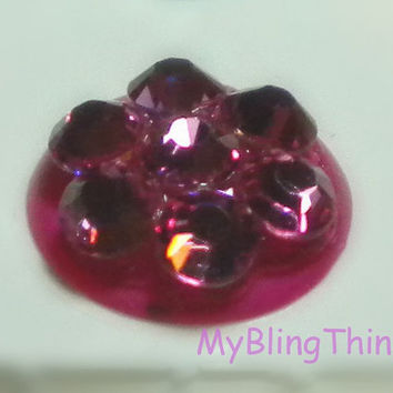 Crystal Bling Home Button Sticker for Apple by MyBlingThingz