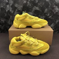 Adidas Yeezy 500 Desert Rat Yellow Sneakers - Best Online Sale