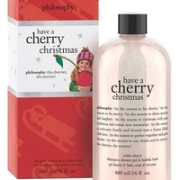 philosophy 'holiday' shampoo, shower gel & bubble bath (Limited Edition)