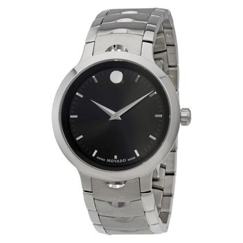 Movado Luno Mens Stainless Steel Watch 607041
