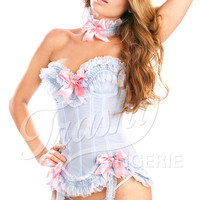 Trashy.com - Lingerie - panties - hosiery - swimsuit models - sexy lingerie - Carousel Stretch Corset