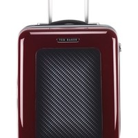 Ted Baker London 'Small Burgundy' Four Wheel Suitcase (22 Inch) | Nordstrom