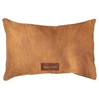 Faux Leather Texture With Name - Not Real Leather Dog Bed