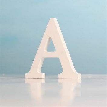 .Wooden Letter Alphabet Standing Decoration Wedding Party Birthday Craft