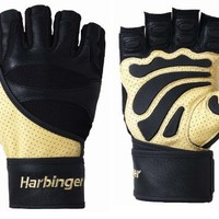 Harbinger 1205 Big Grip II WristWrap Weight Lifting Gloves (X-Large)