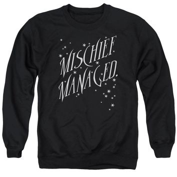 Harry Potter - Mischief Managed 4 Adult Crewneck Sweatshirt Officially Licensed Apparel