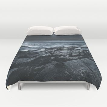 Courted by sirens Duvet Cover by HappyMelvin