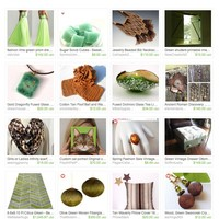 Lime with a Twist by Janet on Etsy