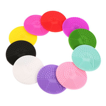 Makeup Brush Cleaning Pad Brush Scrubber