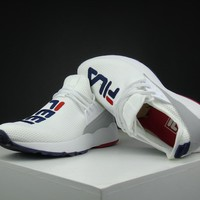 Fila Destroyer 1825 White Running Shoes Size 36 44.5