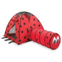 Pacific Play Tents Ladybug Tent & Tunnel Combo Set