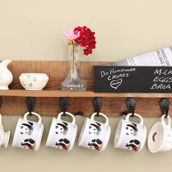 Coffee Mug Rack Hanger For Wall Cup