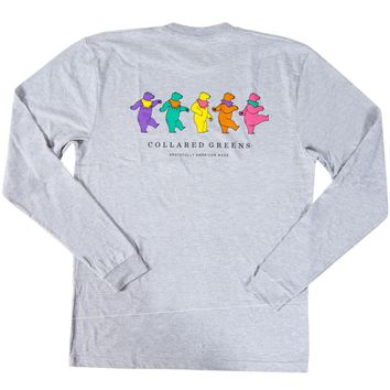 Dancing Bear Long Sleeve T-Shirt