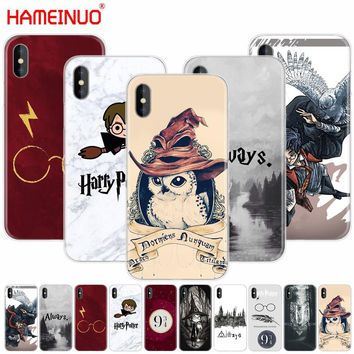 HAMEINUO Harry Potter always Style cell phone Cover case for iphone X 8 7 6 4 4s 5 5s SE 5c 6s plus