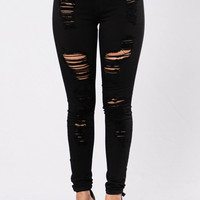 Havin It Skinny Jean - Black