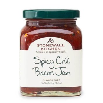 Stonewall Kitchen Spicy Chili Bacon Jam, 12.5 oz (354g)
