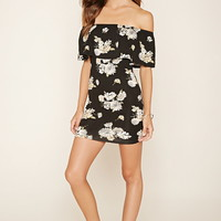 Off-the-Shoulder Floral Dress | Forever 21 - 2000170600