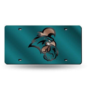 Coastal Carolina Chanticleers NCAA Laser Cut License Plate Tag