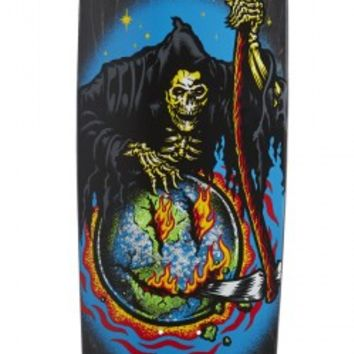 Santa Cruz Guzman Smile Preissue Shaped Skateboard Deck - 9.16
