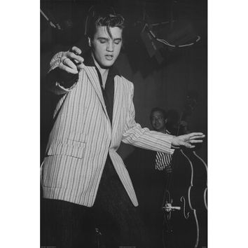 Elvis Presley Domestic Poster