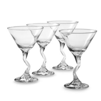 Libbey® Z-Stem 9-Ounce Martini Cocktail Glasses (Set of 4)