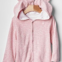 Gap Baby Favorite Reversible Bear Hoodie