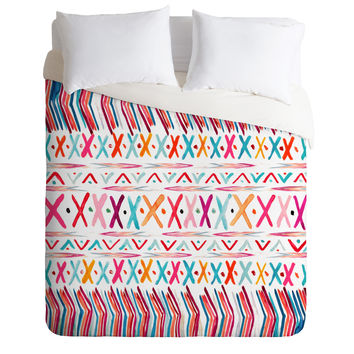 Monika Strigel Crazy Echo Duvet Cover